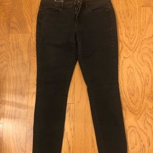 Loft. Curvy skinny black jeans.